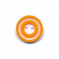 Donut Knopf 15 mm Orange*4 Stück