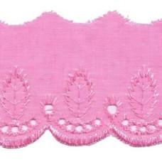 Retro * Wäschespitze 50 mm * Pink