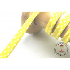 Polkadots Paspelband Gelb