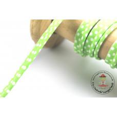 Polkadots Paspelband Lime