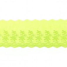 BW Wäschespitze Belle Fleur 90 mm ♥ Lime