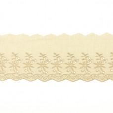 BW Wäschespitze Belle Fleur 90 mm ♥ Sand