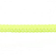 BW ♥ Wäschespitze lilFLOWER 30 mm ♥ Lime