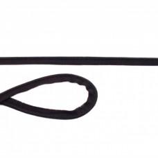 Elastisches Jersey Paspelband * Schwarz