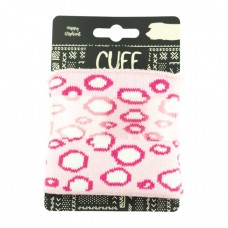 Cuff Bubbles * Pink-Naturweiß