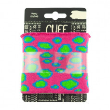 Cuff Bubbles * Fuchsia-Lime