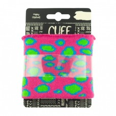 Cuff Bubbles * Fuchsia-Lime