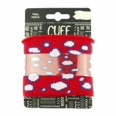 Cuff Bubbles * Red-Light Pink
