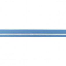 Falzgummi ♥ LUREX Stripe ♥ Alt Blau