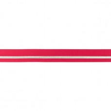 Falzgummi ♥ LUREX Stripe ♥ Fuchsia