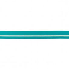 Falzgummi ♥ LUREX Stripe ♥ Dunkel Mint