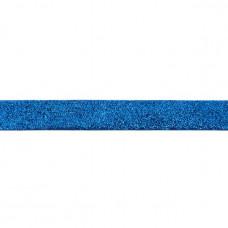 25 mm Glitzerband Kobalt