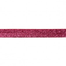 25 mm Glitzerband Fuchsia