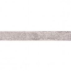 25 mm Glitzerband Silber