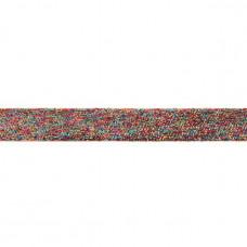 25 mm Glitzerband Rainbow
