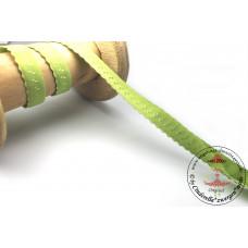 Elastisches Einfassband mit Bogenkante*LIME