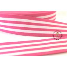 Gummiband * 40 mm * Streifen * Fuchsia