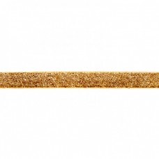 15 mm Glitzerband Gold