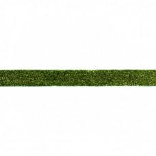 Glitzerband Grün