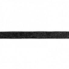 15 mm Glitzerband Schwarz