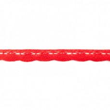 Klöppelspitze Bogen Rot