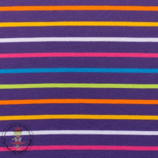 Jersey Colourful Stripes*Purple