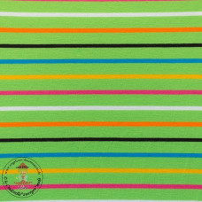 Jersey Colourful Stripes*Lime