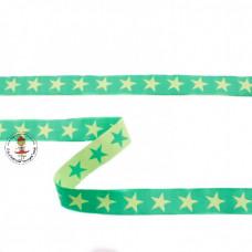 Webband Sterne Grün*Lime