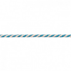 Kordel 2 farbig*Aqua*8 mm