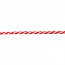 Kordel 2 farbig*Rot*8 mm