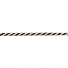 Kordel 2 farbig*Schwarz*8 mm