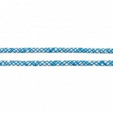 Baumwoll Kordel ♥ 8 mm ♥ Netzdesign Aqua
