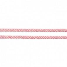 Baumwoll Kordel ♥ 10 mm ♥ Netzdesign Rosa