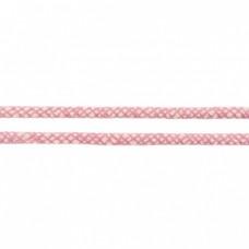 Baumwoll Kordel ♥ 8 mm ♥ Netzdesign Rosa
