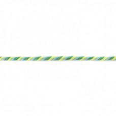 Kordel  3-farbig*Lime*Apple*Hellblau