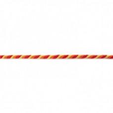 Kordel  3-farbig*Gelb*Rot*Orange