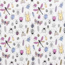 ♥ MAGIC ♥ Baumwoll Jersey * Color Changing Bugs