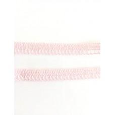 Klöppelspitze Zartrosa 1cm breit