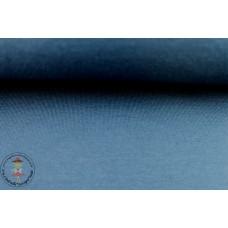 French Terry Sweat Uni*Dark Jeans Blue