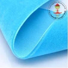 Samtband 10 mm Turquoise*3 m