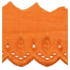 Wäschespitze Bordüre 50 mm*orange
