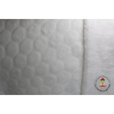 Cherry Flanell Fleece*Weiß