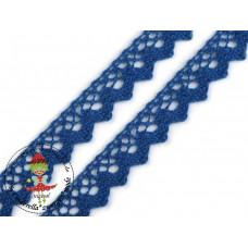 Klöppelspitze ZickZack Blue