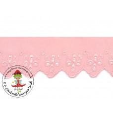 Wäschespitze Bordüre 50 mm* Powder Pink
