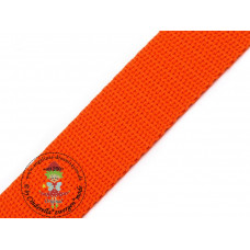 Gurtband Orange 30 mm