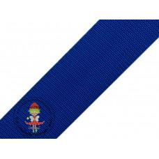 Gurtband Blau 40 mm