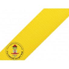 Gurtband Gelb 40 mm