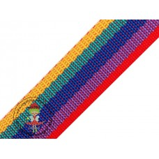 Gurtband Multicolor 40 mm