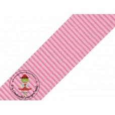 Gurtband Rosa 40 mm