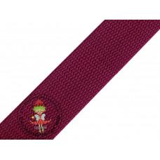 Gurtband Rotwein 30 mm